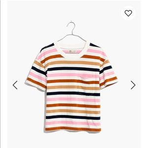 NWT Striped Madewell Tee